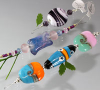 Hand Made Lampwork Glass Beads - De-Stash No. 1