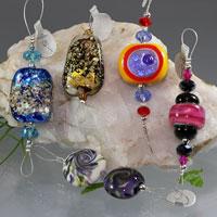 Hand Made Lampwork Glass Beads - De-Stash No. 2