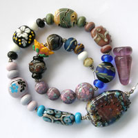 'LAB RATS - Set 4'   Lampwork Glass Beads