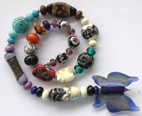 'LAB RATS - Set 3'   Lampwork Glass Beads