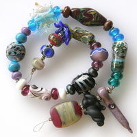 'LAB RATS - Set 5'   Lampwork Glass Beads