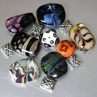 'LAB RATS - Set 6'   Lampwork Glass Beads